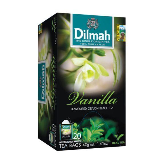 Dilmah vanilla tea bags
