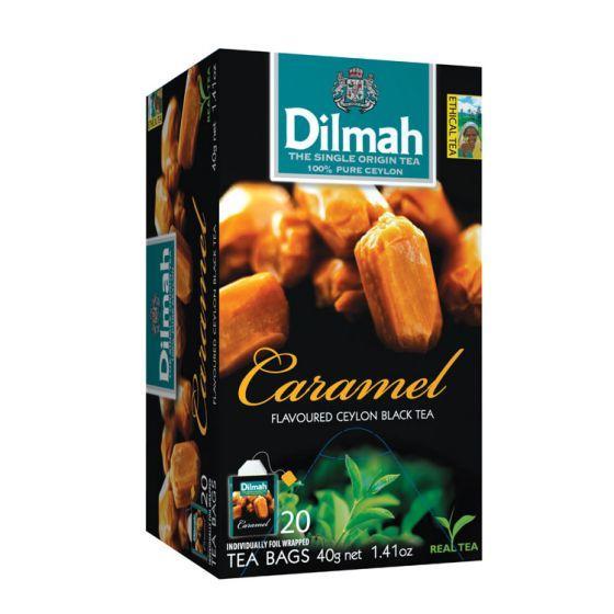 Dilmah caramel tea bags