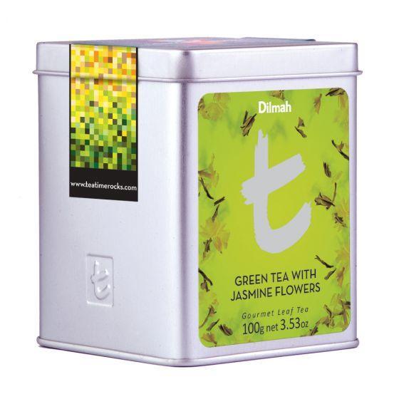 Dilmah green tea with jasmine