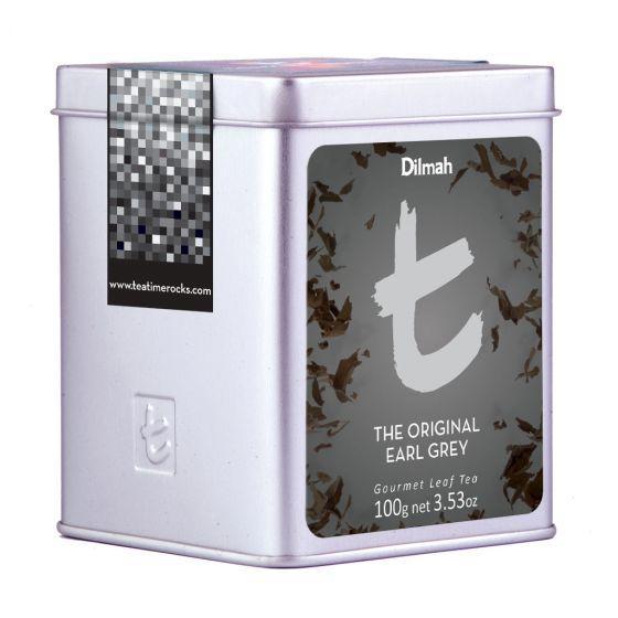 Original Earl Grey Tea, Dilmah Blik t-series